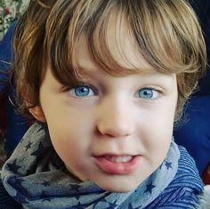 My little blue eyes kid