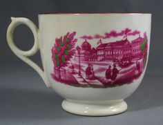 Porcelain cup & saucer commemorating the marriage of The Princess Royal to the Prince of Prussia, circa 1858