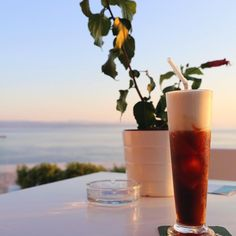 Golden-hour chilling while waiting for an old friend with the best view on the island.  #latergram #icecoffee #goldenhour #magichour #summertime #skiathospalacehotel #freddocappuccino #seaview #priime #priime_coast #galleryoflightfeature #ig_greece  #thisisgreece #reasonstovisitgreece #welovegreece_ #athensvoice