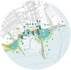 Urban Analysis, Site Analysis, Architecture Panel, Concept Architecture, Landscape Diagram, Landscape Design, Path Design, Plan Drawing, Master Plan