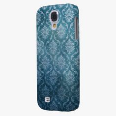 It's cool! This Blue Vintage Damask Samsung Galaxy S4 Cases is completely customizable and ready to be personalized or purchased as is. Click and check it out!