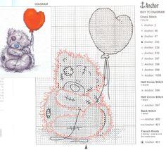 me-to-you met hartjesballon
