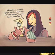 I can see Lilliana doing this when no one is looking XD
