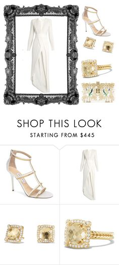"""""""Outfit # 3460"""" by miriam83 ❤ liked on Polyvore featuring Jimmy Choo, Galvan, David Yurman and Dolce&Gabbana"""
