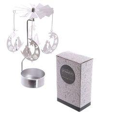 Moon and Cat Design Metal Tea Light Spinner Price: 5.50 GBP
