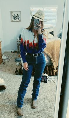 Cowboy Outfits For Women, Cute Cowgirl Outfits, Country Style Outfits, Southern Outfits, Rodeo Outfits, Trendy Outfits, Cool Outfits, Fashion Outfits, Western Style