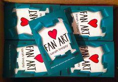 Fan Art will be here in paperback on June 7, 2016!