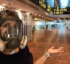 Gas Mask Girl, Respirator Mask, Outfit Of The Day, Gas Masks, Beachwear, Swimwear, Girls, Photography, Ootd