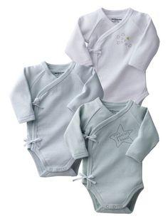 Baby Pack of 3 bodysuits vertbaudet enfant