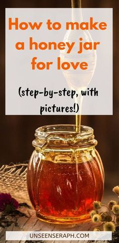 Step-by-step instructions (with pictures) on how to make a hoodoo honey jar spell for love, how to work with a honey jar and how to properly dispose of it. Jar Spells, Healing Spells, Candle Spells, Candle Magic, Hoodoo Spells, Magick Spells, Wiccan Witch, Witchcraft Books, Gypsy Spells