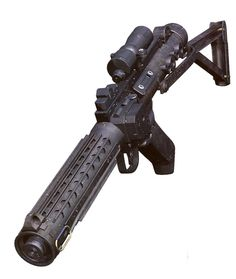 Star Wars blaster rifle