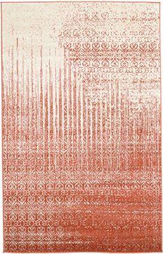 Unique Loom Del Mar Collection Red 5 x 8 Area Rug 5 x 8 >>> Click for Special Deals #VintageKitchenDecor