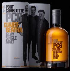 Port Charlotte PC6 Whisky - Peated Islay Single Malt Scotch  like @ #rock candy media