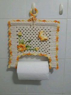 Filet Crochet, Art Au Crochet, Motif Bikini Crochet, Crochet Kitchen, Crochet Flowers, Crochet Projects, Sewing Crafts, Diy And Crafts, Crochet Patterns