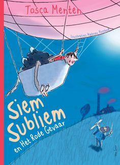 Tosca Menten heeft met Siem Subliem een nieuw boek uit. Ook kun je meedoen met een struisvogeldanswedstrijd en zo een luchtballonreis winnen!