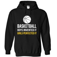 Basketball Girls T Shirts, Hoodies. Get it here ==► https://www.sunfrog.com/Sports/Basketball-Girls-Black-7508383-Hoodie.html?57074 $39