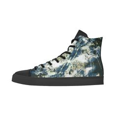 Peinture-1 Andromeda High Top Action Leather Women