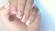 jauntyjuli:  Back to School Nail Art | Tumblr Inspired