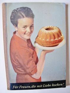 Old GERMAN COOK Book, Austrian Pastry, Guglhupf, Strudel, Reese Baking, ca. 1945, Viennese Sweets, Instructions by AlpineCountryLooks on Etsy