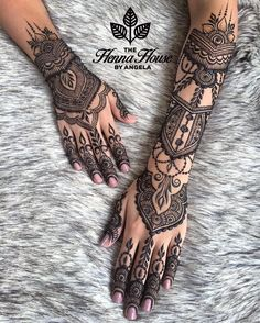 Pin For Trend Presented Henna Tattoo Designs Collection 2019 - Latest Henna Designs - Henna Ideas 2019 (Beautiful Henna Designs Henna Tattoo Hand, Henna Tatoos, Henna Body Art, Henna Art, Mandala Tattoo, Henna On Hand, Tribal Hand Tattoos, Tattoo Celtic, Tattoo Owl