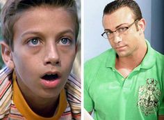 Yeah-Yeah from Sandlot! Had the hots for him back in the day! Site shows the cast then and now