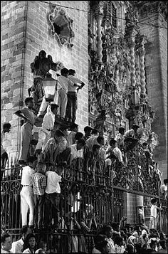 Henri Cartier-Bresson, Easter Week, Taxco, Guerrero State, Mexico, 1963.