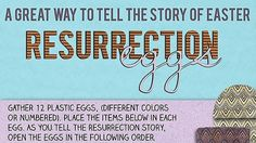 Step-by-step instructions on how to make resurrection eggs. Use these, along with Bible verses, to share the story of Easter.