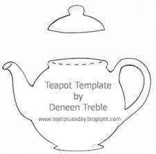 free teapot template - Google Search