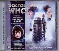 Dr Doctor Who Tha Final Phase Audio CD MINT Tom Baker