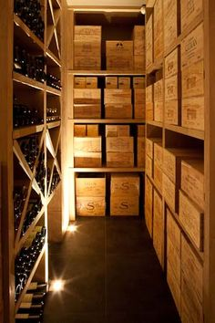 wine case storage