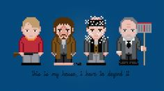 Home Alone - PixelPower - Amazing Cross-Stitch Patterns http://www.pixelpowerdesign.com/shop/movies/product/show/437-home-alone
