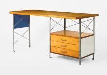 CHARLES AND RAY EAMES | 1st Edition ESU Desk, Model No. D-20-N