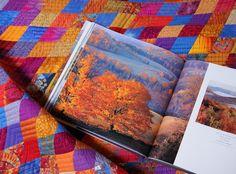 """http://meinequiltsundich.blogspot.com Quilt """"Autumn Love"""""""