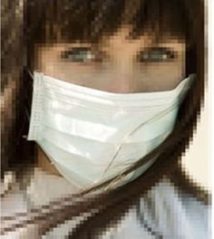 20,40,60,80 disposable surgical dust virus flu protectors face masks looped ears #NT