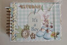 Heli Papeles ♥: Mini álbum para Esteban :)