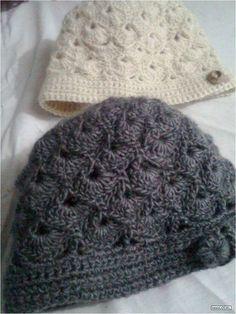 8897f728c6fb Bonnets femmes et leurs grilles gratuites ! Modèles De Chapeaux Au Crochet,  Écharpes Au Crochet
