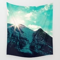 Wall Tapestries featuring Mountain Starburst by Kim Fearheiley Photography