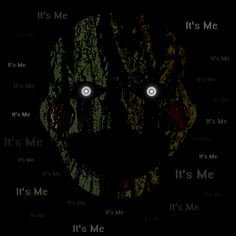 ======= Shirt for Sale ======= Phantom Puppet - It's Me Five Nights at Freddy's tshirt by Kaiserin. =========================   #FNAF