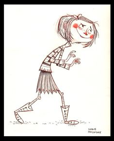 Character development by Shane Prigmore for the movie Coraline.