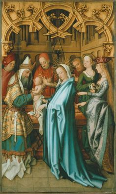 Presentation of Christ in the Temple by Hans Holbein,1502