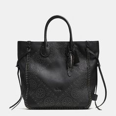 Coach, Tatum Studded Tall Tote In Pebble Leather, ₩1,182,600 #fashion #style #bag #shopping #clothes #women #musthave
