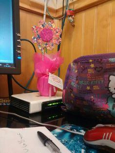 Cosas de mi escritorio