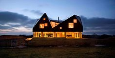 The Dune House, Thorpeness, Suffolk by  Jarmund/Vigsnæs Architects for www.living-architecture.co.uk