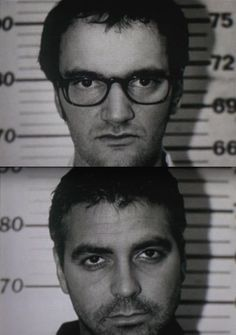 """Quentin Tarantino and George Clooney in """"From Dusk Till Dawn"""" (1995)"""