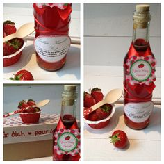 Erdbeer-Karamell-Sirup