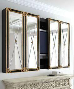 Hide Your Tv Mirror Wand Plasma Storage Hidden