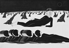 ARTA   Daehyun Kim si Alter ego-urile in negru - MUZAHOLIC