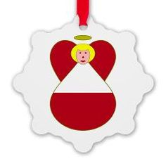 Blonde Austrian Flag Angel Ornament> Blonde-Haired Austrian Flag Angel> Angel Flags from Auntie Shoe Charming blonde angel decked out in the Austrian Flag or flag of Austria. Fun for Christmas, or anytime you want to share your love and pride in your #Austrian heritage, ancestry and culture. See more angels on ornaments, stocking and calendar at http://www.cafepress.com/angelflags
