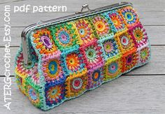 ATERGcrochet on Etsy ♡♡♡♡♡♡ Love Love Love Her Crochet Patterns AND are almost all in between $3 - $4 !!!!