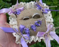Rustic Chic Wedding ring pillowRustic Wedding Wedding